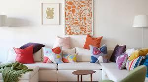habiller un canapé coussin déco canapé 10 coussins pour un salon scandinave cocon de