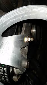 amg55 scattershield for supercharger pulley mbworld org forums