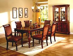 modern formal dining room contemporary standard dining chairs dining room classic modern luxurious black leather carving chair rectangle brown varnished wood table square stained