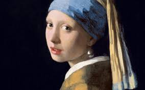 painting the girl with the pearl earring the girl with a bearing earring a study of when science