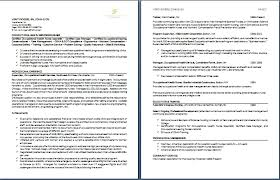 Resume 1 Or 2 Pages 2 Page Resume Examples Berathen Com