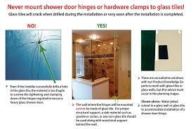 non glass shower doors creative mirror u0026 shower design tips