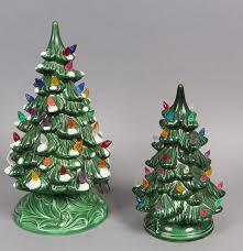 ceramic light up christmas tree mold light up ceramic christmas trees ebth