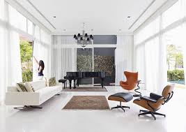 Ames Chair Design Ideas Wonderful Living Room With Eames Chairs Rustzine Home Decor