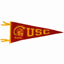 Banners Flags Pennants Usc Tommy Pennant