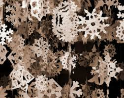 paper snowflakes etsy