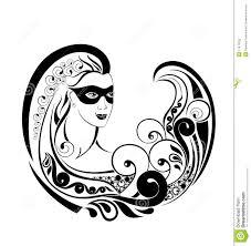 zodiac wheel with sign of virgo tattoo design stock photography