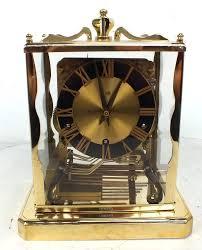 Antique Mantel Clocks Value Vintage Schatz Mantel Clock Westminster Chiming Clock Ebay