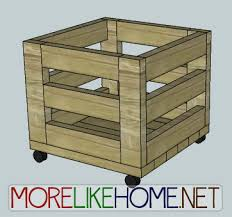 more like home day 14 build a simple storage bin