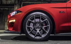 wheel mustang ford muscles up the 2018 mustang in preparation to battle camaro