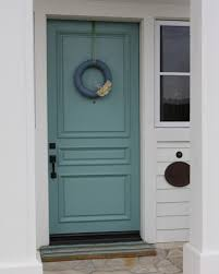 outside door painted sherwin williams