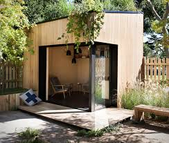 Studio Shed With Bathroom by Backyard Room From Archiblox Puts A Man Cave In Your Yard Insidehook