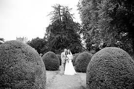 a creative and pretty wedding at the walled garden at cowdray