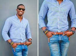 how to wear blue jeans with a blue shirt men u0027s fashion