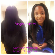 Natural Virgin Hair Extensions by First Install Of Virgin Malaysian Straight Remy Hair Extensions