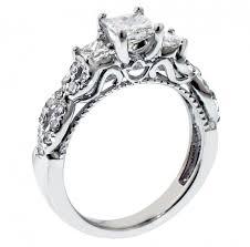 unique princess cut engagement rings vip jewelry 1 45 ct 3 princess cut engagement