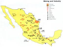 Mexico Political Map by Map Of Mexico Mountain Ranges U0026 Rivers Planetware
