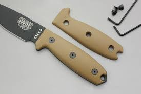 esee 3 esee 4 compact g10 handle coyote brown tkc