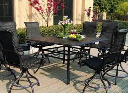 Bar Height Patio Table And Chairs Bar Height Patio Table Objectifsolidarite2017 Org