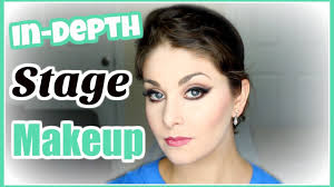 professional theatrical makeup in depth stage makeup tutorial kathryn