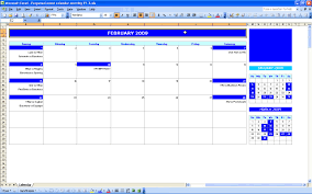 Excel Calendar Template Monthly Event Calendar Excel Templates