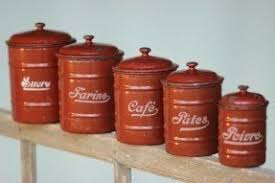 large kitchen canisters metal kitchen canisters foter