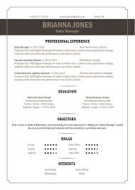Best Resume Format In Word by Best Resume Format Catchy Resume Mycvfactory