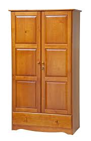 Solid Wood Computer Armoire by Amazon Com 100 Solid Wood Universal Wardrobe Armoire Closet By