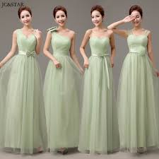 Wedding Dress Murah Mint Hijau Pengiring Pengantin Dresses Beli Murah Mint Hijau