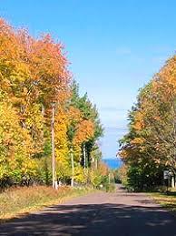 scenic fall color drives lake superior