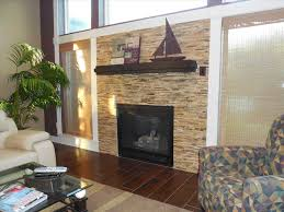 refacing fireplace with stone living room natural stone fireplace