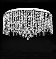 Lighting Dining Room Chandeliers by Modern Contemporary Flush Mount Ceiling Light Ball Crystal