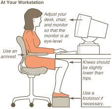 Computer Desk Posture Desk Posture