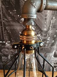 the steampunk industrial style table lamp adorable home the steampunk industrial style table lamp