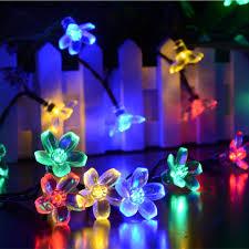 solar power christmas tree christmas lights decoration