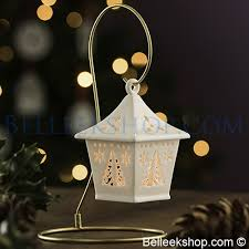 belleek living tree hanging lantern decorations