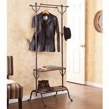 franklin coat rack with shelves assembly