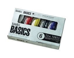 save on liquitex basics acrylic paint set of 6 colors more colors at utrecht