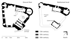 file dunstaffnage castle plan png wikimedia commons