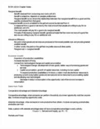 econ 1021 microeconomics parkin bade chapter 1 9 midterm study