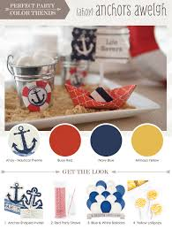 nautical colors perfect party nautical party color trends big dot of happiness