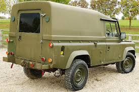 military land rover discovery land rover defender tithonus 110 2 5 n a diesel hard soft top