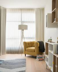 good looking modern wall shelving with square shelves tufted