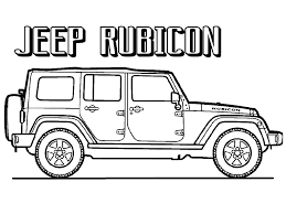 lifted jeep drawing draw jeep coloring pages 99 in picture coloring page with jeep