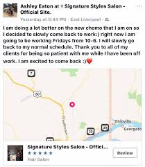 signature styles salon official site home facebook
