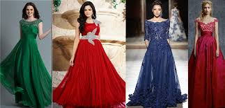 Christmas Gowns Latest Styles  Designs Collection 20182019