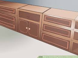 how to install sliding shelves in kitchen cabinets with pictures