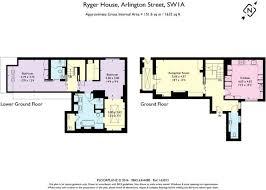Arlington House Floor Plan 2 Bedroom Apartment For Sale In Ryger House 11 Arlington Street