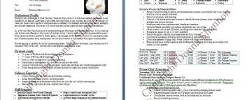 Demi Chef De Partie Resume Sample Chef Resume Examples Sushi Chef Resume Sample Best Operations