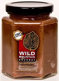 gourmet mustard mustards mountain gourmet strawberry mustard national